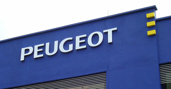 Outdoor signage - Peugeot Malaysia