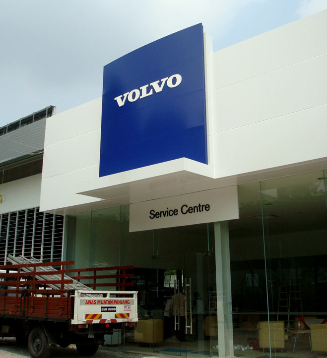 Volvo - Service centre sign