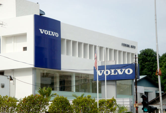 Volvo - Pylon sign